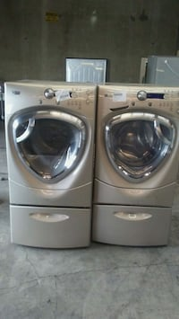two gray front-load clothes washer and dryer set Los Angeles, 90031