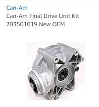 CAN AM FINAL DRIVE Triangle, 22172