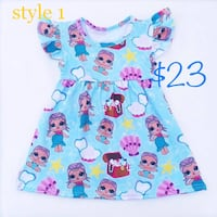 Lol doll mermaid dress Dover, 07801