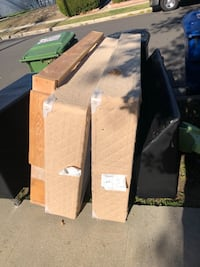 FREE Couch, TV stand and Cali king box springs Los Angeles, 91306