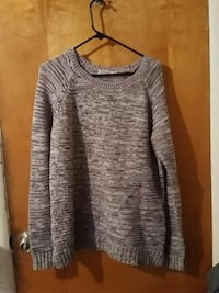 Knitted grey sweater Eugene, 97404