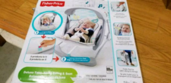 Fisher Price Deluxe Take-Along swing and seat