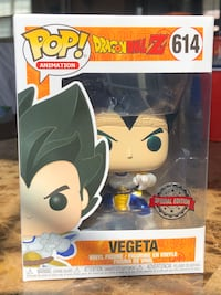 Dragon Ball Z - Metallic Vegeta Funko Pop! Markham, L3S 3B9