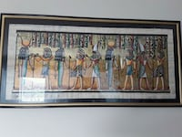 Egyptian hand painted rice paper  Coquitlam, V3B 0C6