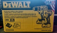 New Brushless DeWalt 20v XR Impact &Drill Driver kit Brampton, L6S 3E5