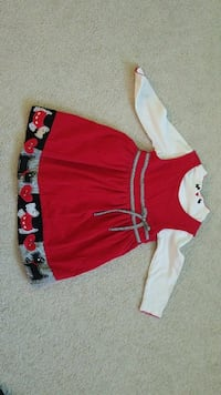 Girls Christmas dress- size 6