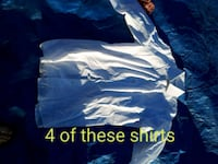 4 Harry Rosen white dress shirts New Westminster, V3M