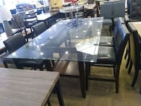 Glass dining table with 4 chair clearance Phoenix, 85018