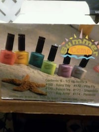 6 bottles Creative Nail Lacquer  Suitland-Silver Hill, 20746