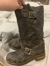 Brown Mid Leg Boot size 7.5 St Thomas, N5P 2C2