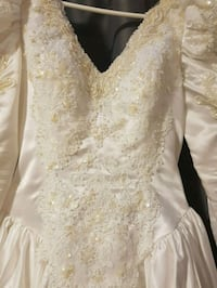 Wedding dress imported by Lina's Boutique