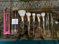 Elf precision brushes and Lise water powder brush  Toronto, M4A 1A2