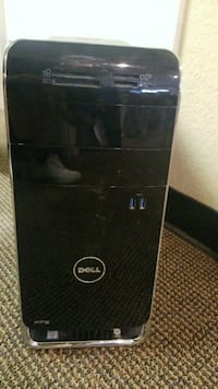 black HP laptop computer with box