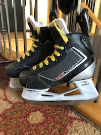 pair of black-and-white ice skates null, T8E 2E9