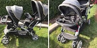 Baby's black and gray stroller Temecula, 92592