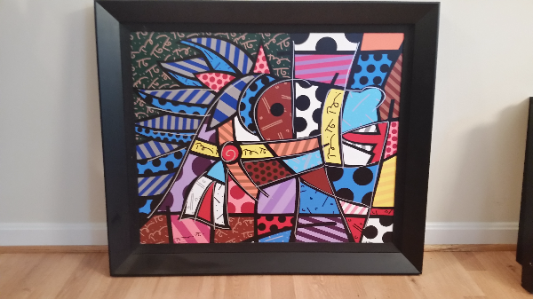 Horse by Romero Britto