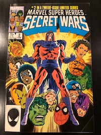 Marvel Super Heroes Comic - Secret Wars I Vol.1 No.2, June 1984. Fine condition New York, 11692