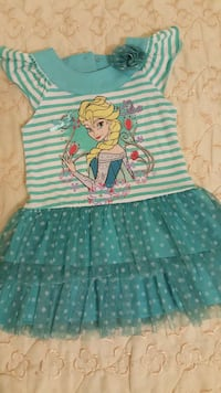 Disney Frozen cap sleeve tutu dress Toronto, M9A