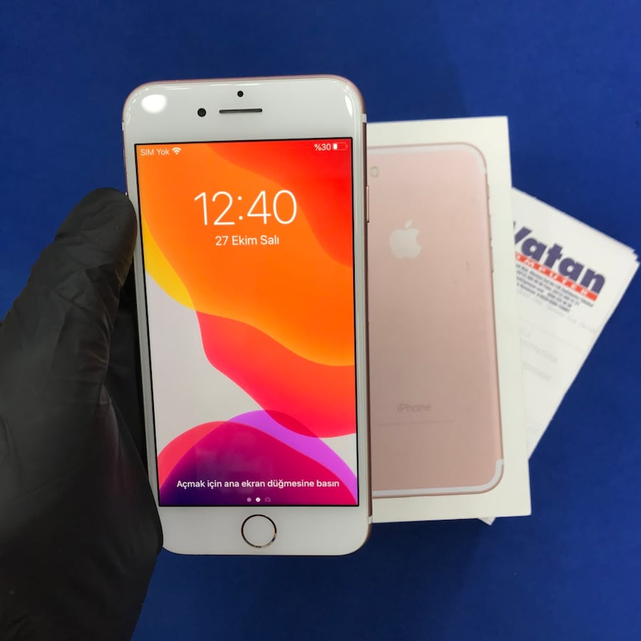Apple iPhone 7 32GB Pembe f7e31080-ba68-4a8c-9f93-34085e28adfe