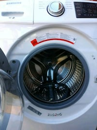 white and gray front-load clothes washer Oakland