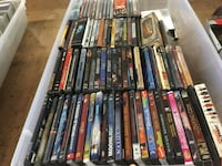 Assorted dvd movie cases collection Gardena, 90249