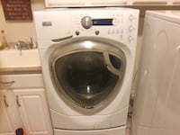 white front-load clothes washer Zionsville, 46077