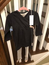 New with tags giftable 6/9 mo dress and stockings  552 km