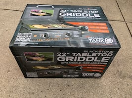 Blackstone camping griddle new in box