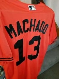 orange and black Nike jersey shirt Baltimore, 21211