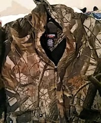brown and black camouflage zip-up hoodie Knoxville, 37920