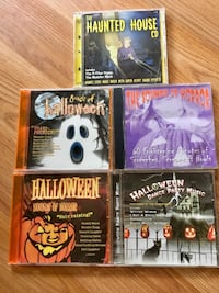 Set of 5 Halloween CDs Warwick, 02886