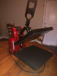 Black and Red Heat Press  Tracy, 95304