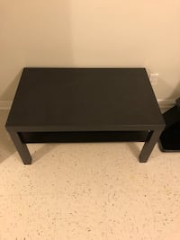rectangular black wooden coffee table Markham, L3T 3R5