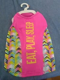 """Eat, Play, Sleep"" sleeveless pet shirt Brampton, L6X"