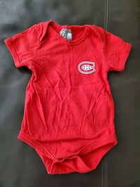 Montreal Canadiens 12 Month diaper shirt Courtice, L1E 3E3