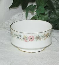 VINTAGE PARAGON BELINDA OPEN SUGAR BOWL SAUCE BOWL ENGLAND CHINA