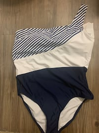 Swimsuit striped size XL