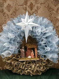 Christmas nativity wreath Stafford, 22554