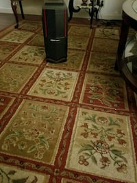 brown and red floral area rug Dearborn Heights, 48127