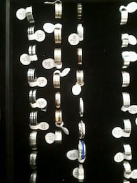Quality stainless steel rings.  Montreal