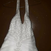 Wedding dress(very gorgeous,has pearls on it) Fort Smith, 72908