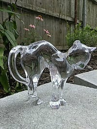 """""""BACCARAT"""" French crystal cat figurine MEOW"""