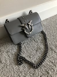 Pinko grey bag