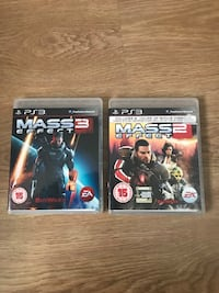 Mass effect 2 + 3 PS3