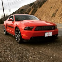 2011 Ford Mustang GT/CS 6 Speed Manual LOSANGELES