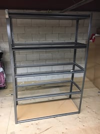 7 metal shelving units. Great condition  Vaughan, L6A 4C9