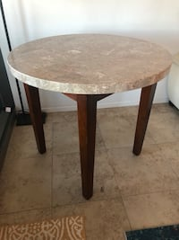 Marble bistro table - counter height  Scottsdale, 85251