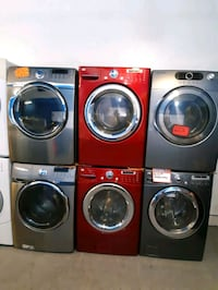 LG FRONT LOAD WASHER AND DRYER SET WORKING PERFECTLY WITH 4 MONTHS WAR Baltimore, 21223