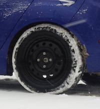 Winter tires & rims for ford fiesta Ottawa, K4A 3W5