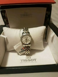 Tissot two tone ladies watch. Original never used. Edmonton, T5Y 3G7